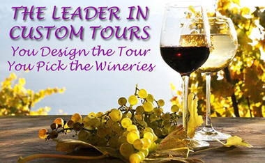 Custom wine tours by open range tours.