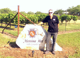 Trained driver for Open Range Wine Tours, Fredericksburg, TX.